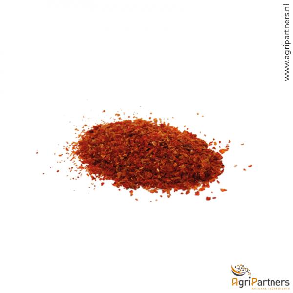 rode paprika granulaat 2mm red bell pepper granules 2mm